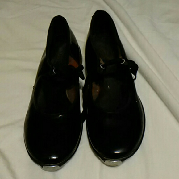 Montgomery Ward Girls Tap Shoes
